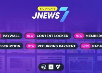 Download JNews WordPress Theme for Free
